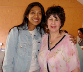 Sunita Singad with Jayn Lee Miller